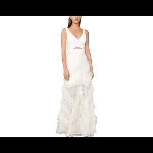 BCBG MaxAzria White Maxi Dress